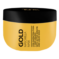 KERATIN GOLD MASK 300ml - Маска за коса с течно злато